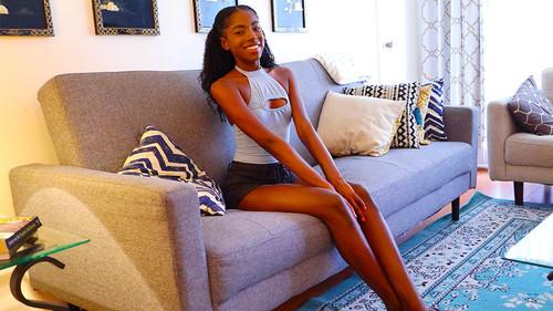 【オボワz☆ 投稿作品】ハタチの黒人美少女を日本人精子で種付け!美しい黒肌には白い精子が良く似合う【個人撮影】